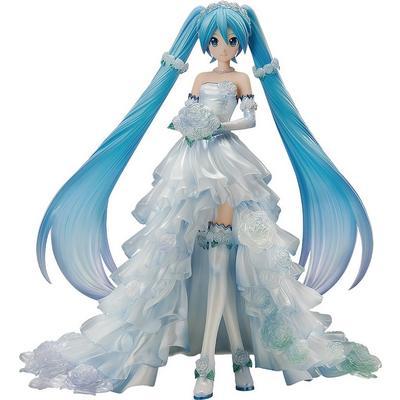 Vocaloid Character Vocal Series 01 Hatsune Miku Wedding Version Statue
