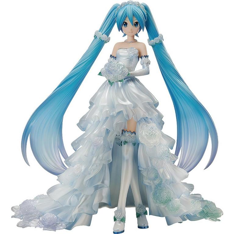 Vocaloid Character Vocal Series 01 Hatsune Miku Wedding Version Statue