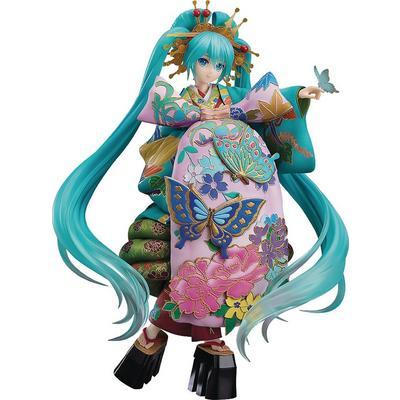Vocaloid Character Vocal Series 01 Hatsune Miku Chokabuki Kuruwa Kotoba Awase Kagami Version Statue