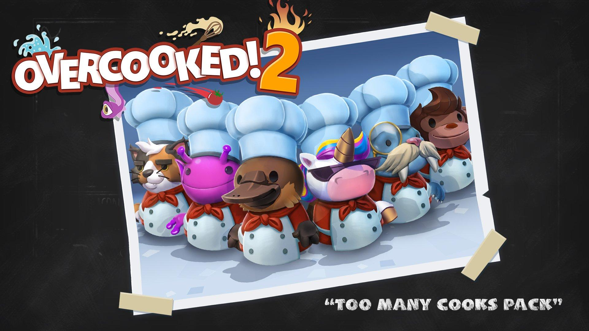 Overcooked! 2:Too Many Cooks Pack   Nintendo Switch   GameStop
