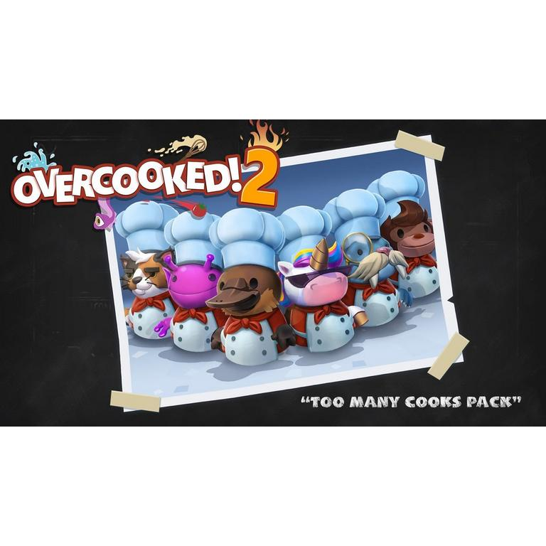 Overcooked! 2:Too Many Cooks Pack