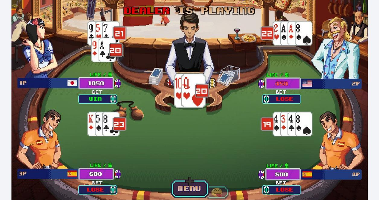Super Blackjack Battle II:Turbo Edition