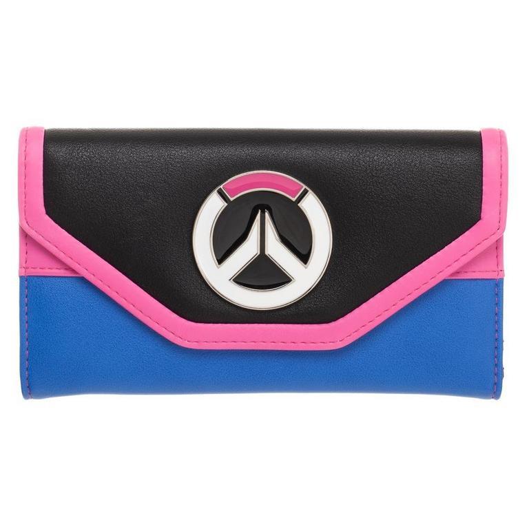 Overwatch D.Va Logo Ladies Wallet