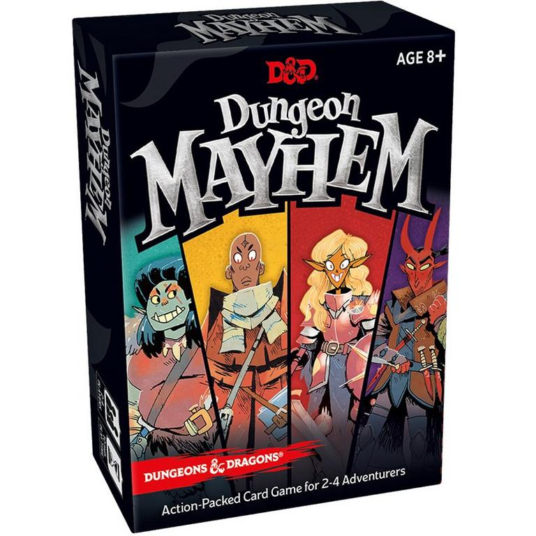 Dungeons and Dragons Mayhem Card Game