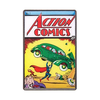 DC Superman Action Comics No. 1 Cover Pin
