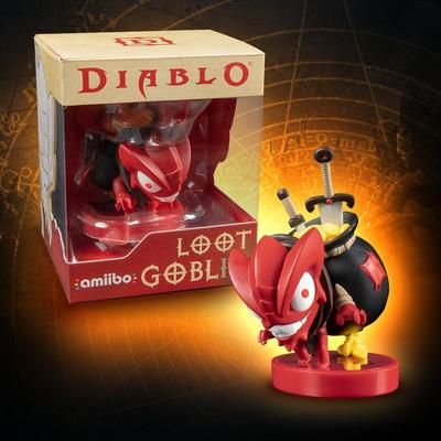 Diablo III Loot Goblin amiibo Only at GameStop
