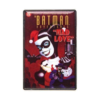 DC Batman Mad Love Cover Pin