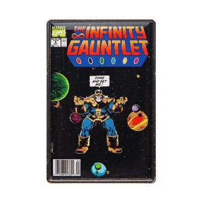 Marvel Infinity Gauntlet Comic Pin