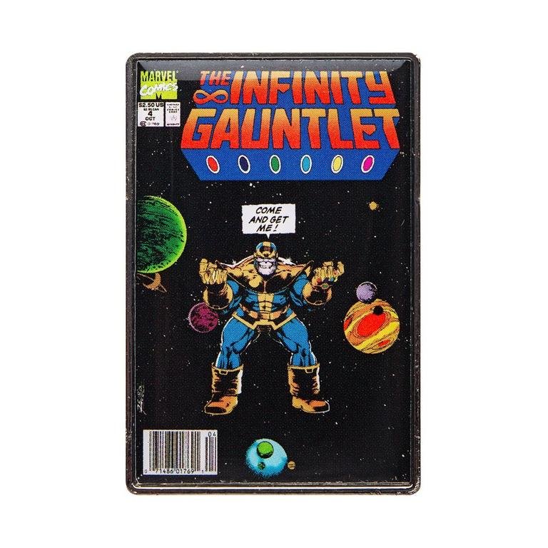 Marvel Infinity Gauntlet Comic Pin