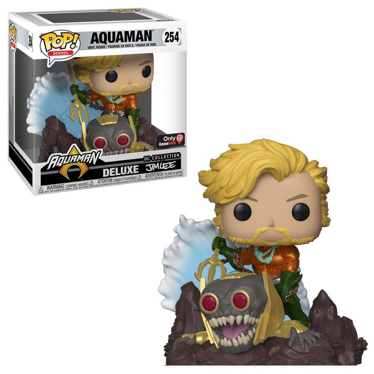 Funko POP! Heroes: Aquaman Deluxe Jim Lee Collection Only at GameStop