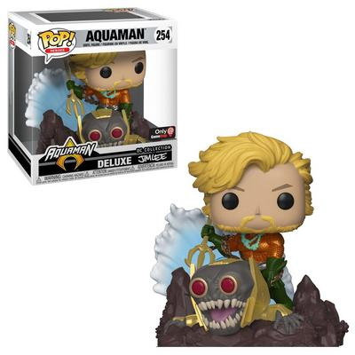 POP! Heroes: Aquaman Deluxe Jim Lee Collection Only at GameStop