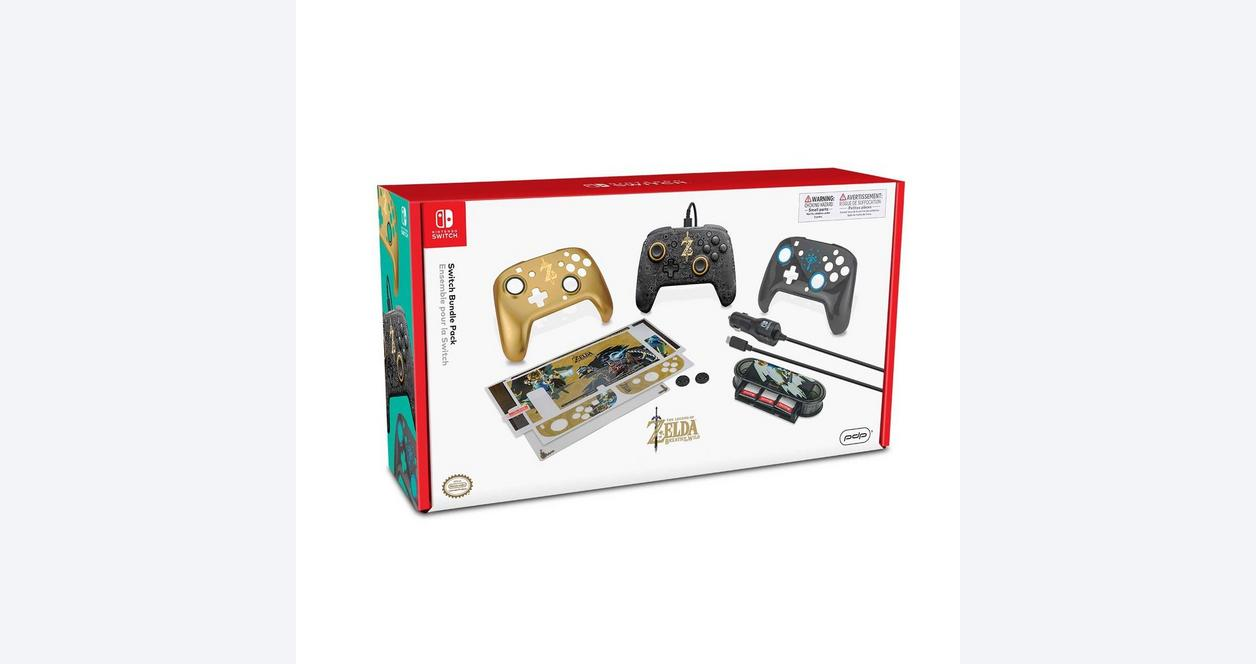 Nintendo Switch The Legend of Zelda Holiday Accessory Bundle Only at GameStop
