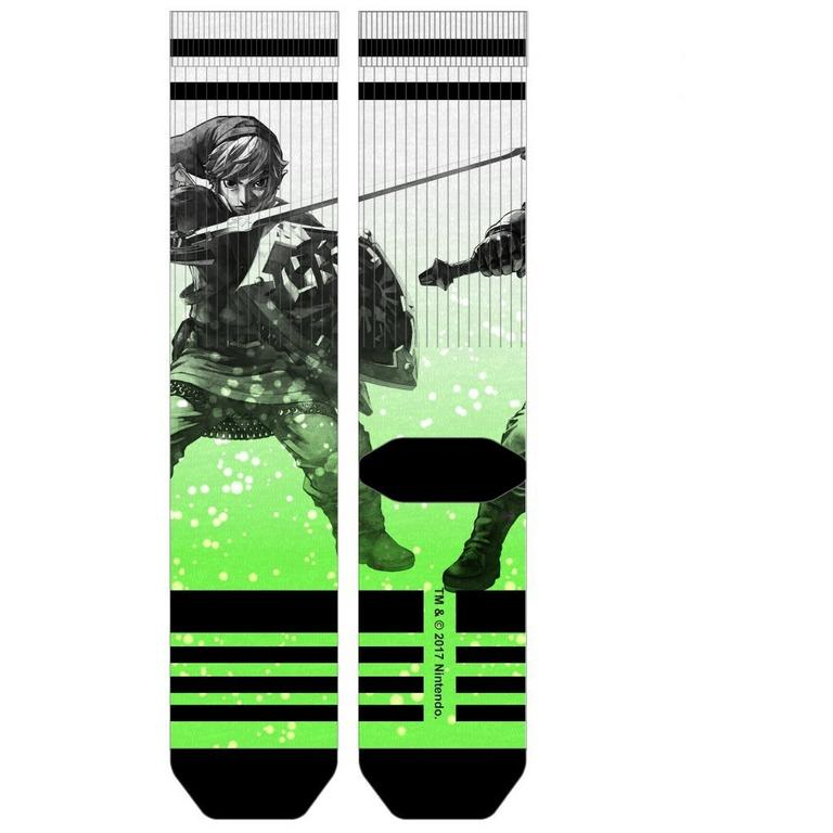 The Legend of Zelda Link Pose Socks