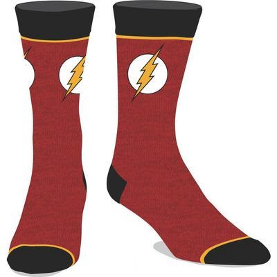 DC The Flash Lightning Bolt Logo Socks