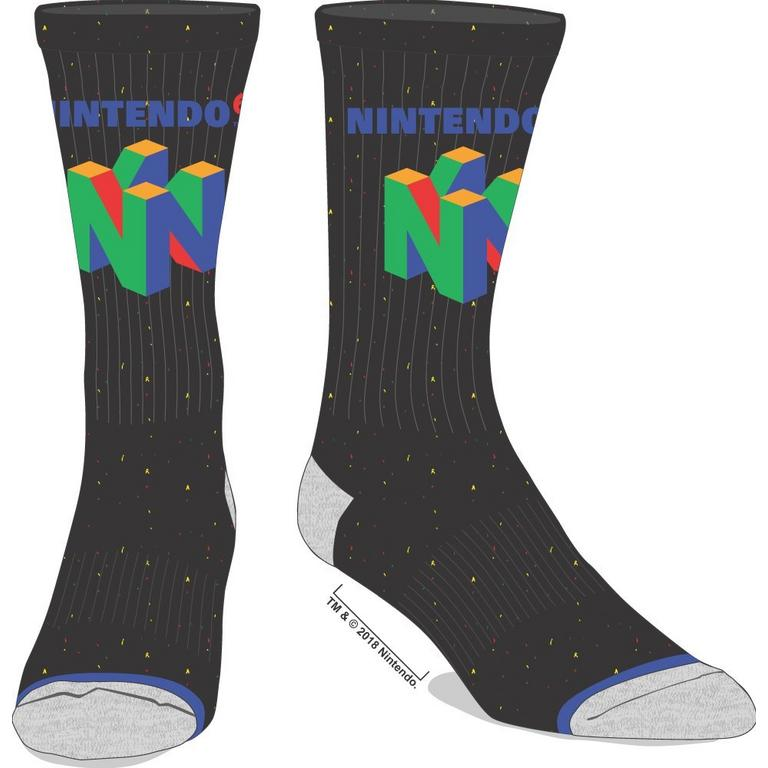 Nintendo 64 Logo Socks