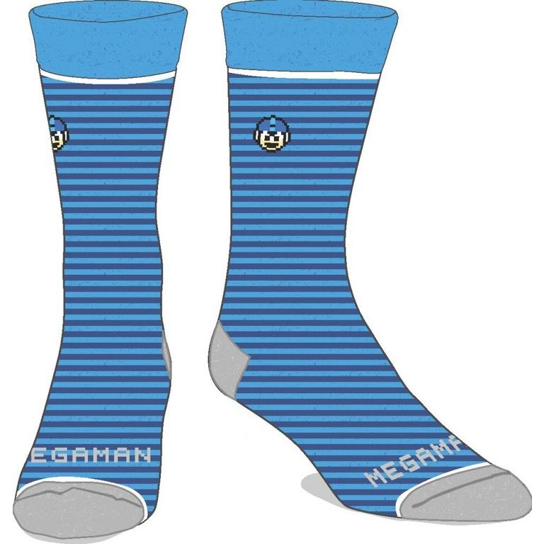 Megaman 8-Bit Socks
