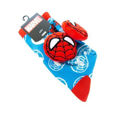 Marvel Spider-Man Fuzzy Head Socks