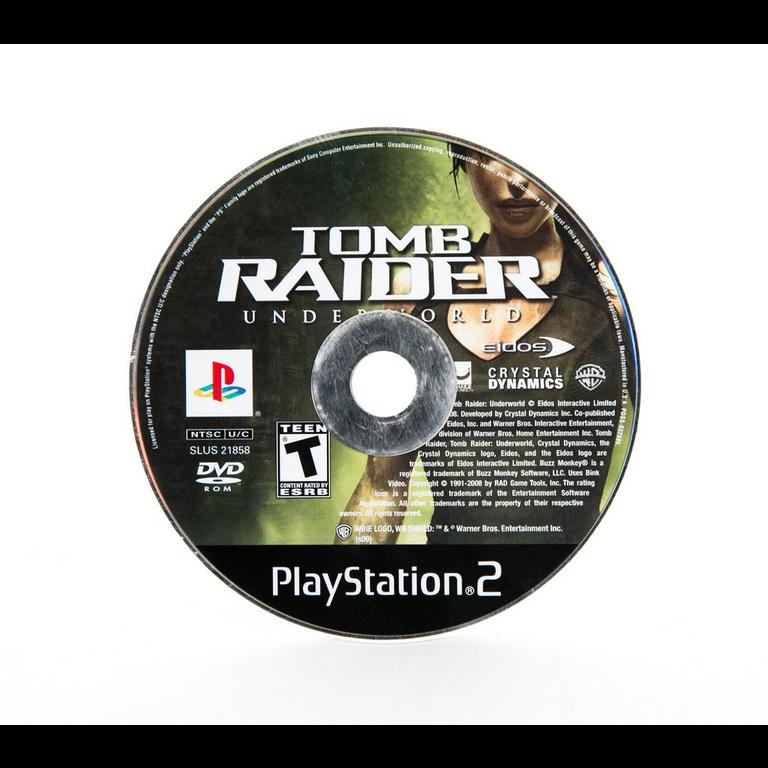 Tomb Raider Underworld Playstation 2 Gamestop