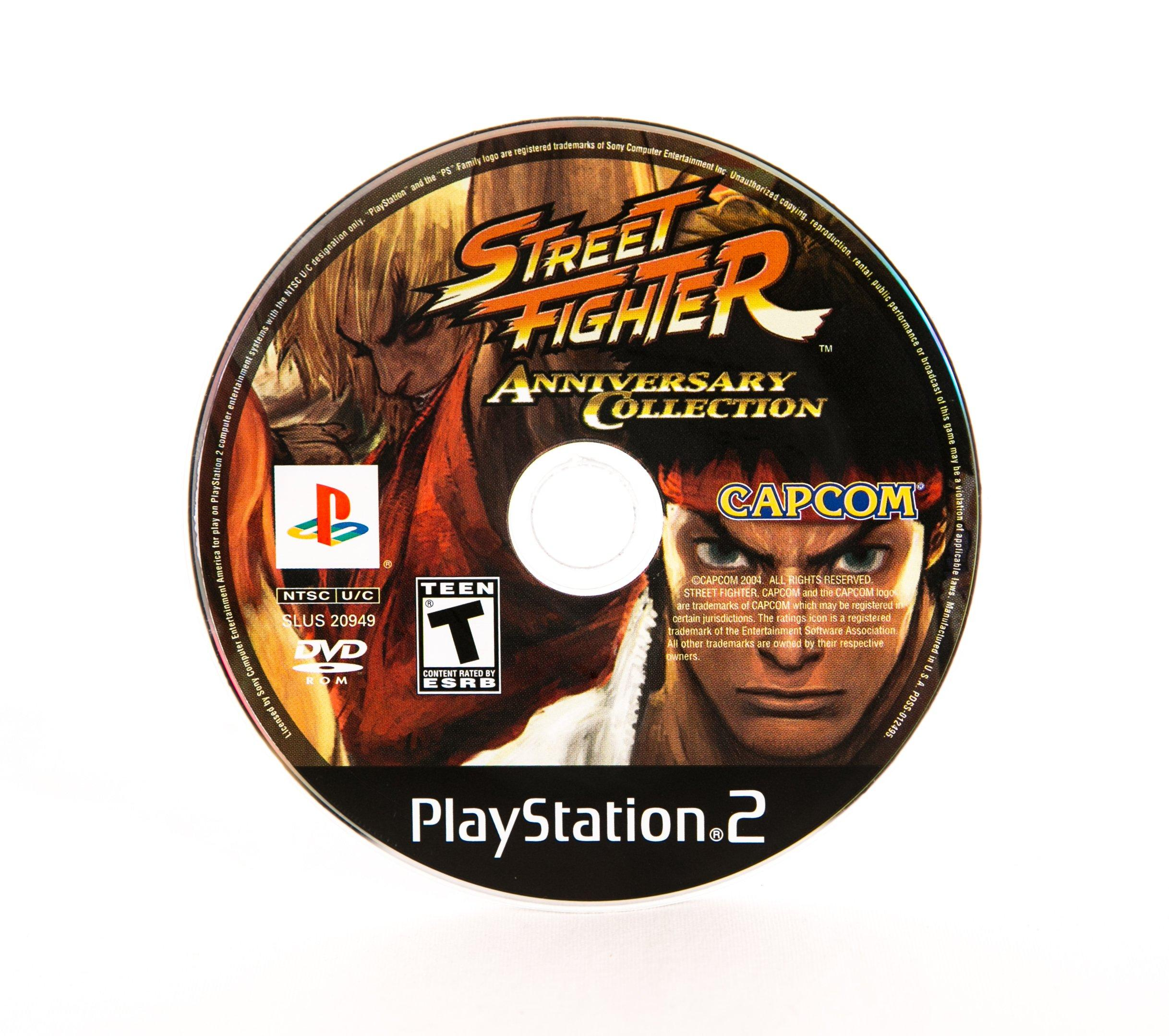 Street Fighter Anniversary Collection Playstation 2 Gamestop