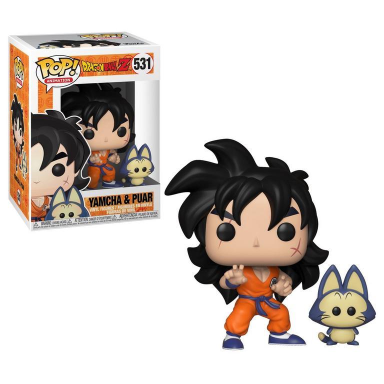 POP! Anime: Dragon Ball Z - Yamcha & Puar