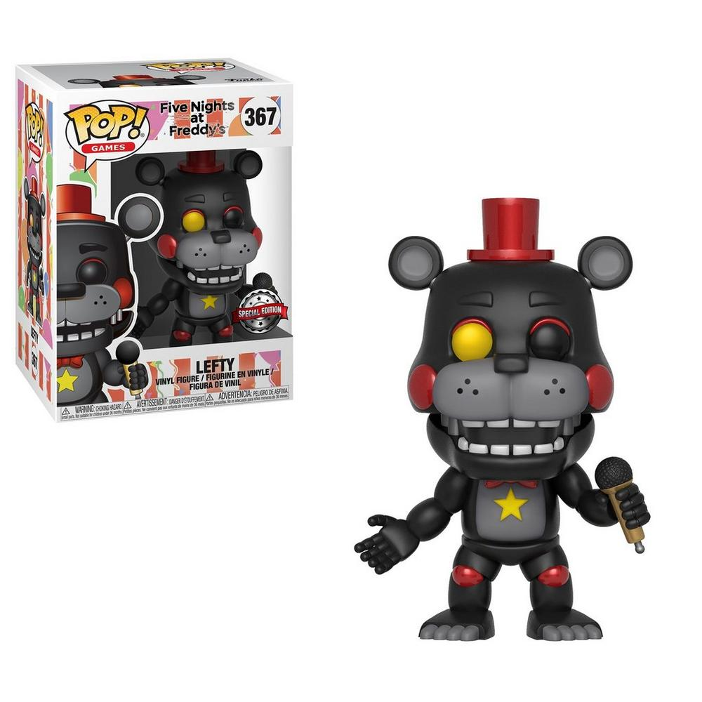 POP! Video Game: Five Nights at Freddy's 6 Pizza Simulator Lefty | GameStop