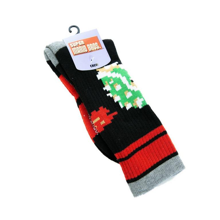 Super Mario Christmas Stocking.Super Mario Bros Bowser Socks Gamestop