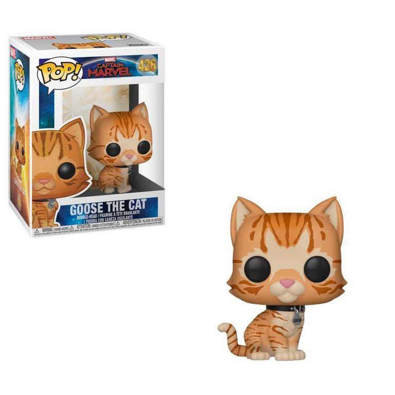 POP! Marvel: Captain Marvel - Goose the Cat