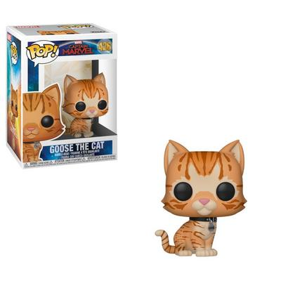 POP! Marvel: Captain Marvel Goose the Cat