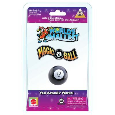 World's Smallest Magic 8 Ball
