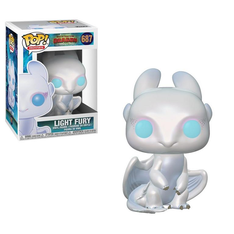 POP! Movies: How to Train Your Dragon: The Hidden World Light Fury