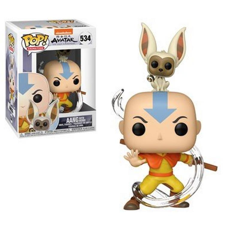 POP! Animation: Avatar The Last Airbender Aang with Momo