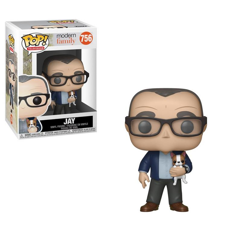 POP! TV: Modern Family Jay with Dog Figure