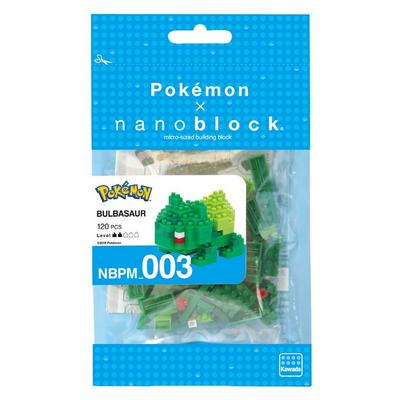 Pokemon Bulbasaur Nanoblock