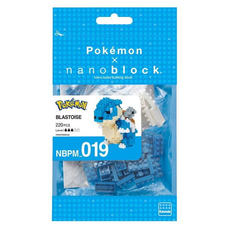 Pokemon Blastoise Nanoblock