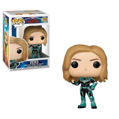 POP! Marvel: Capt Marvel - Vers
