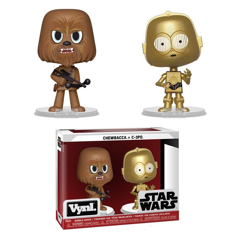 VYNL: Star Wars Chewbacca and C-3PO 2 Pack