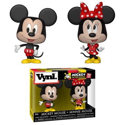 VYNL. Disney Mickey and Minnie Mouse Figures
