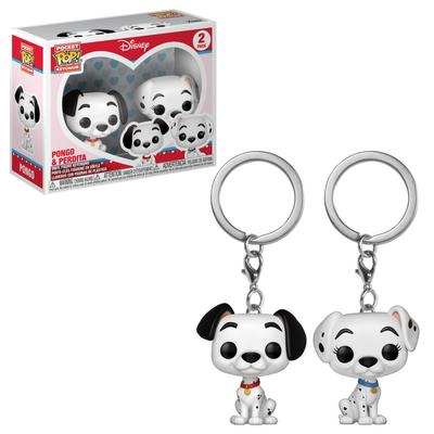 Pocket POP! Keychain: Disney Pongo and Perdita 2 Pack