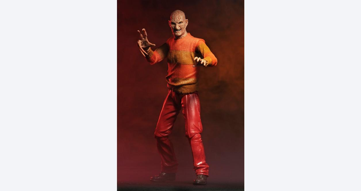 Nightmare on Elm St -7 inch Scale Figure Freddy Video Game - Only at GameStop