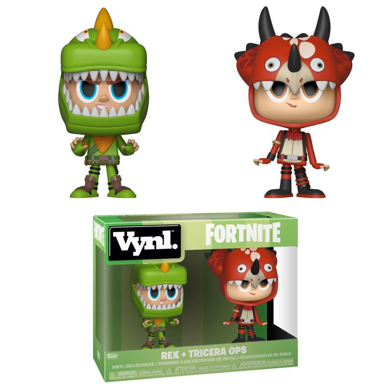 VNYL Fortnite 2 Pack - Rex and Tricera Ops