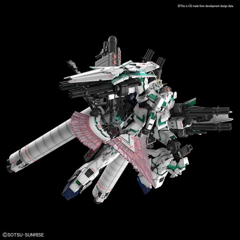 Mobile Suit Gundam UC Full Armor Gundam Unicorn Real Grade Model Kit