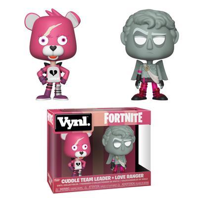 VYNL: Fortnite Cuddle Team Leader and Love Ranger 2 Pack