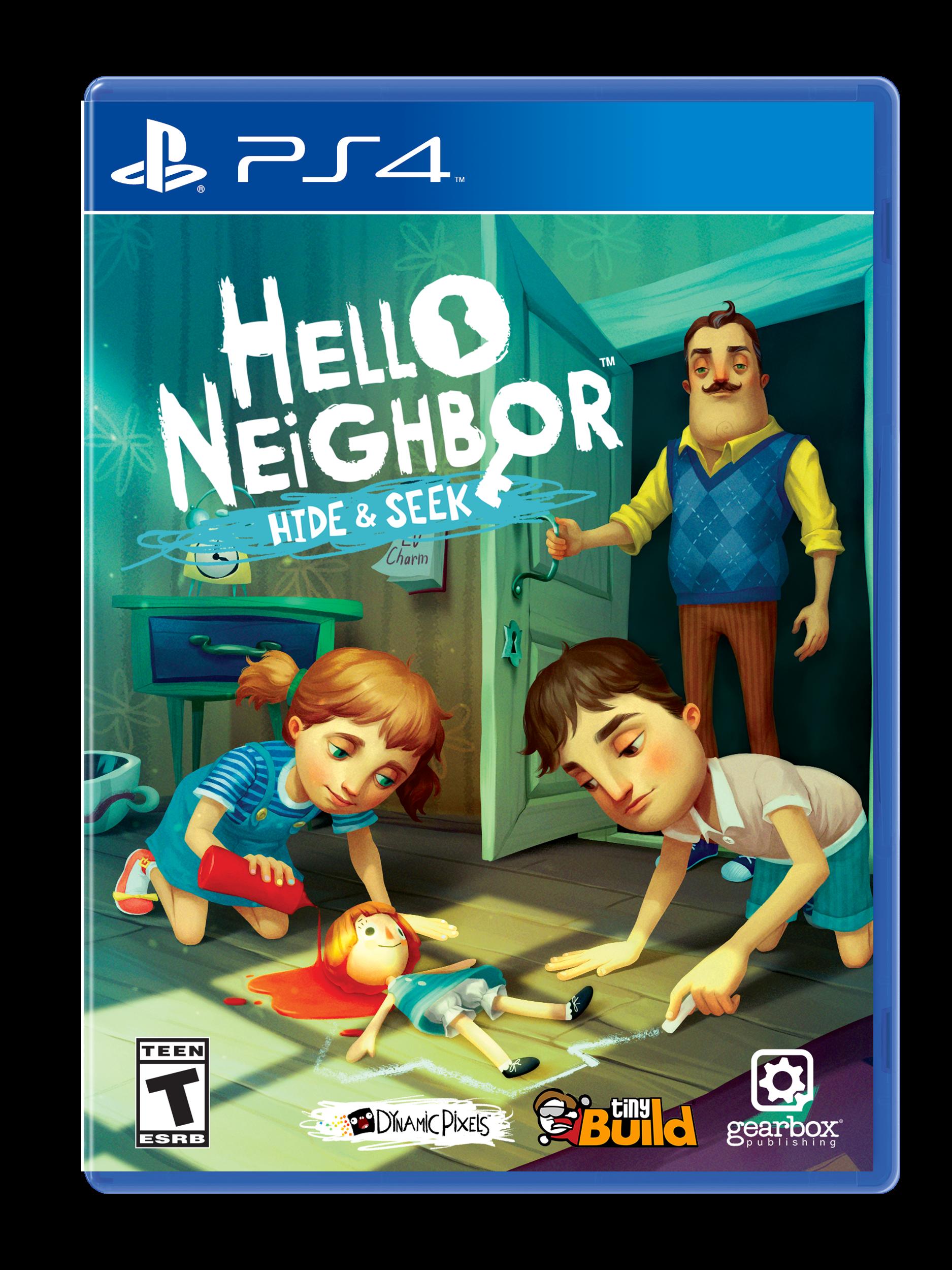 Hello Neighbor Hide And Seek Playstation 4 Gamestop
