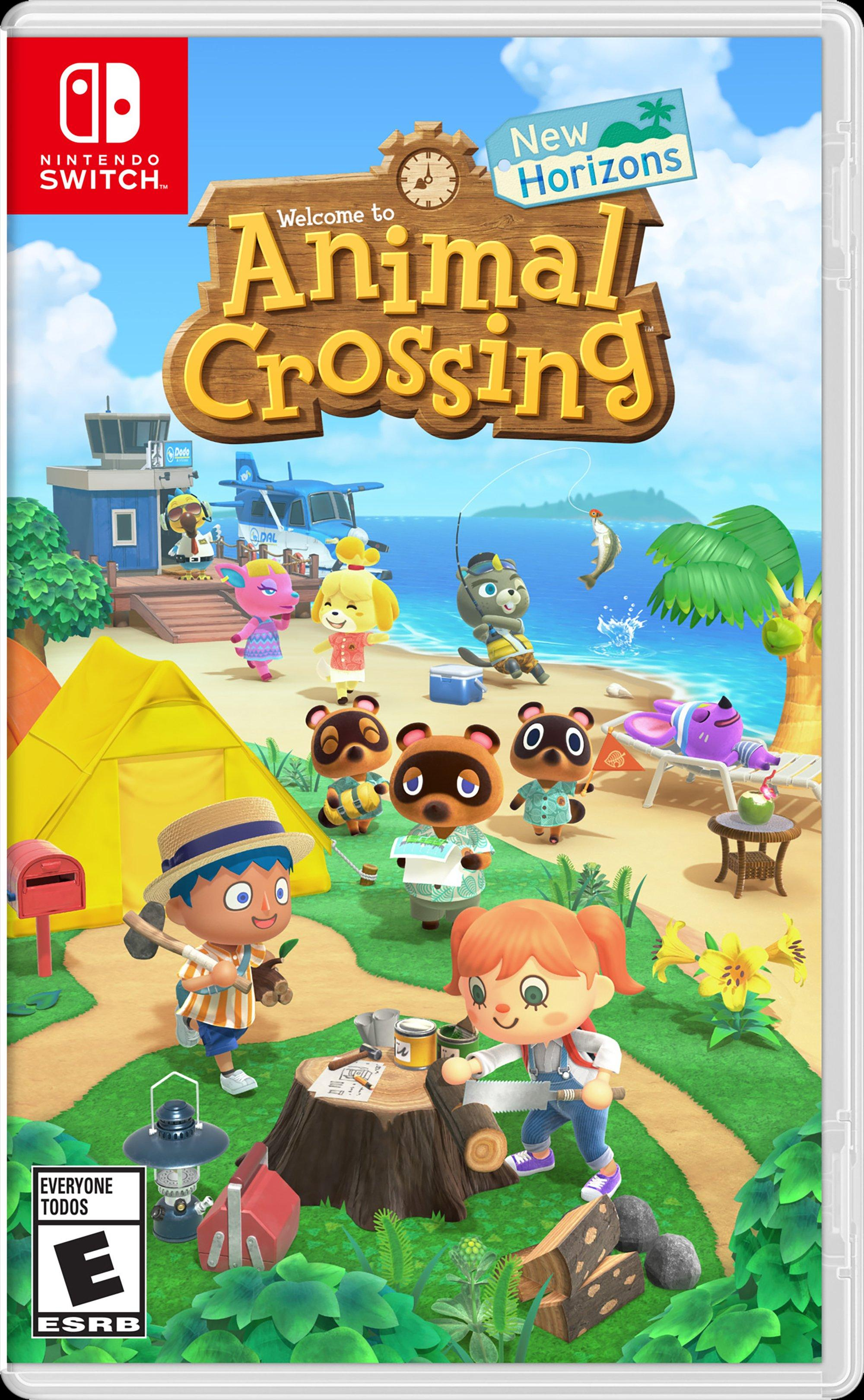 Animal Crossing New Horizons Nintendo Switch Gamestop