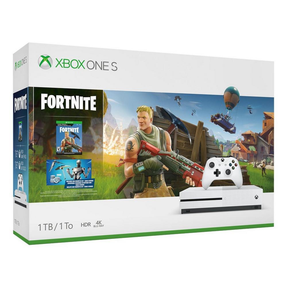 Xbox One S Fortnite Bundle 1tb Xbox One Gamestop