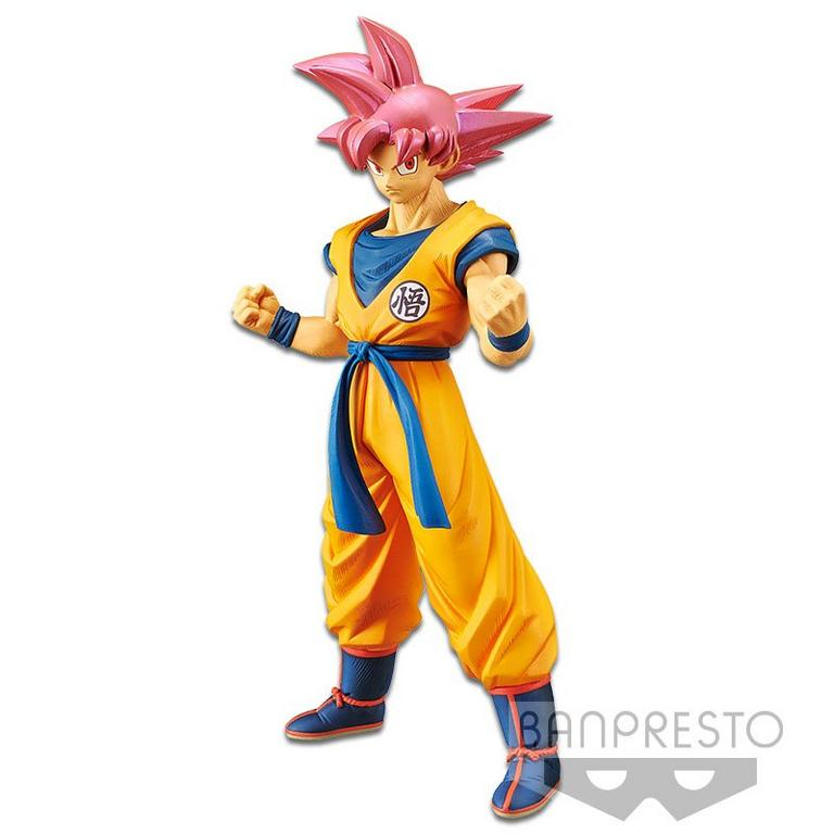 Dragon Ball Super the Movie Super Saiyan God Son Goku Chokoku Buyuden Collection Statue
