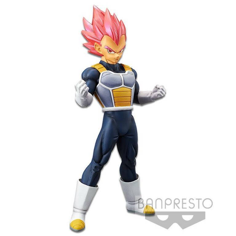 Dragon Ball Super: Broly Super Saiyan God Vegeta Chokoku Buyuden Collection Statue