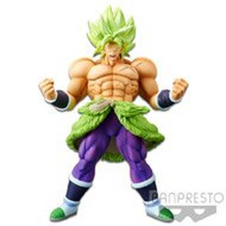 Dragon Ball Super: Broly Super Saiyan Broly Full Power Chokoku Buyuden Collection Statue