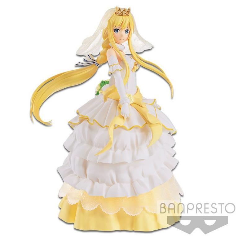 Sword Art Online: Code Register Alice Wedding Dress EXQ Statue
