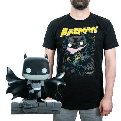 POP! and Tee: Batman by Jim Lee T-Shirt